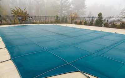 A Pool Cover Offers Essential Winter Protection